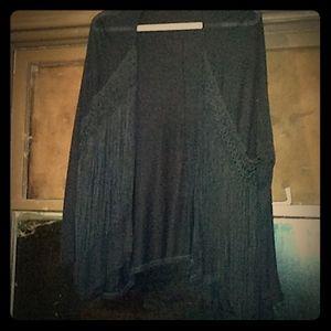 Stunning black Tassel cardigan